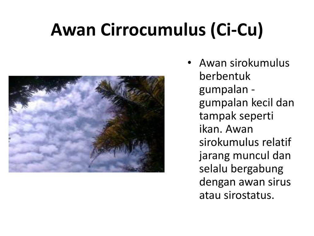 85 Gambar Awan Cirrocumulus (Ci Cu)
