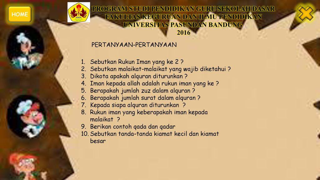 Materi Pembelajaran Pendidikan Agama Islam Ppt Download