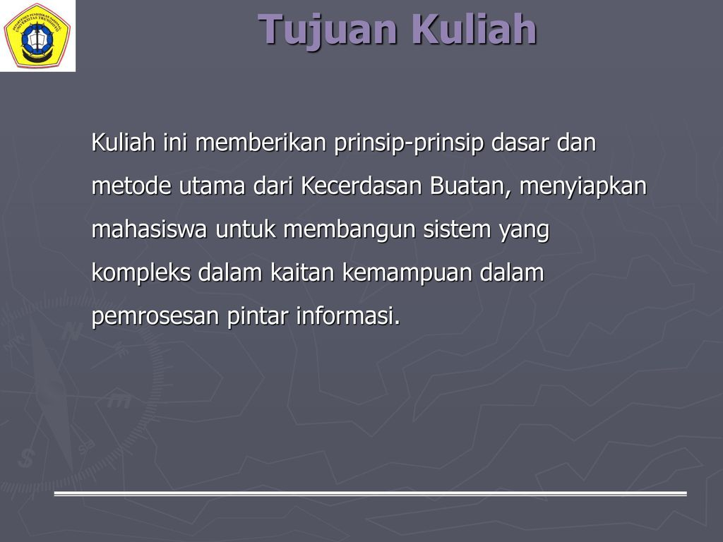 KECERDASAN BUATAN (ARTIFICIAL INTELLIGENCE) - ppt download