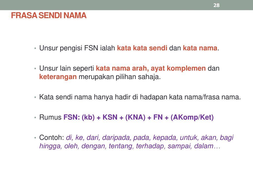 Frasa Kerja Dan Frasa Sendi Nama Ppt Download