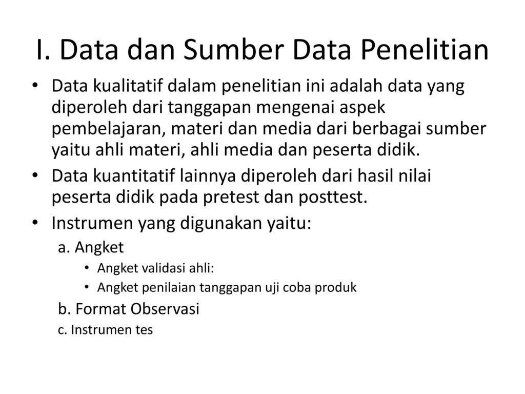 Contoh Penelitian Pengembangan Model Ppt Download