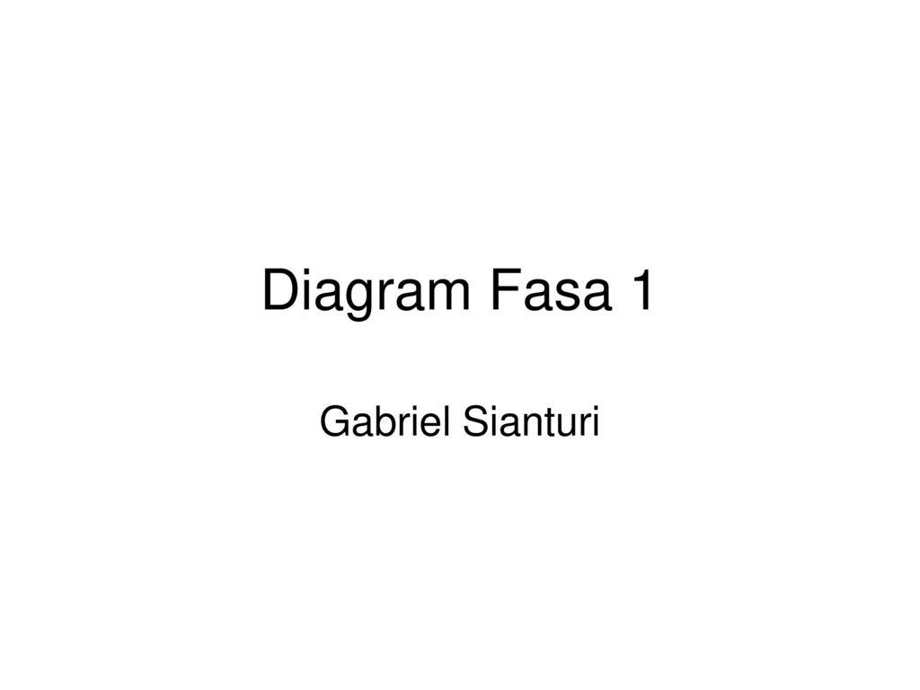 Diagram fasa 1 gabriel sianturi ppt download 1 diagram fasa 1 gabriel sianturi ccuart Gallery