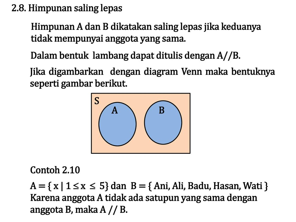 Bab ii himpunan ppt download 10 28 ccuart Images