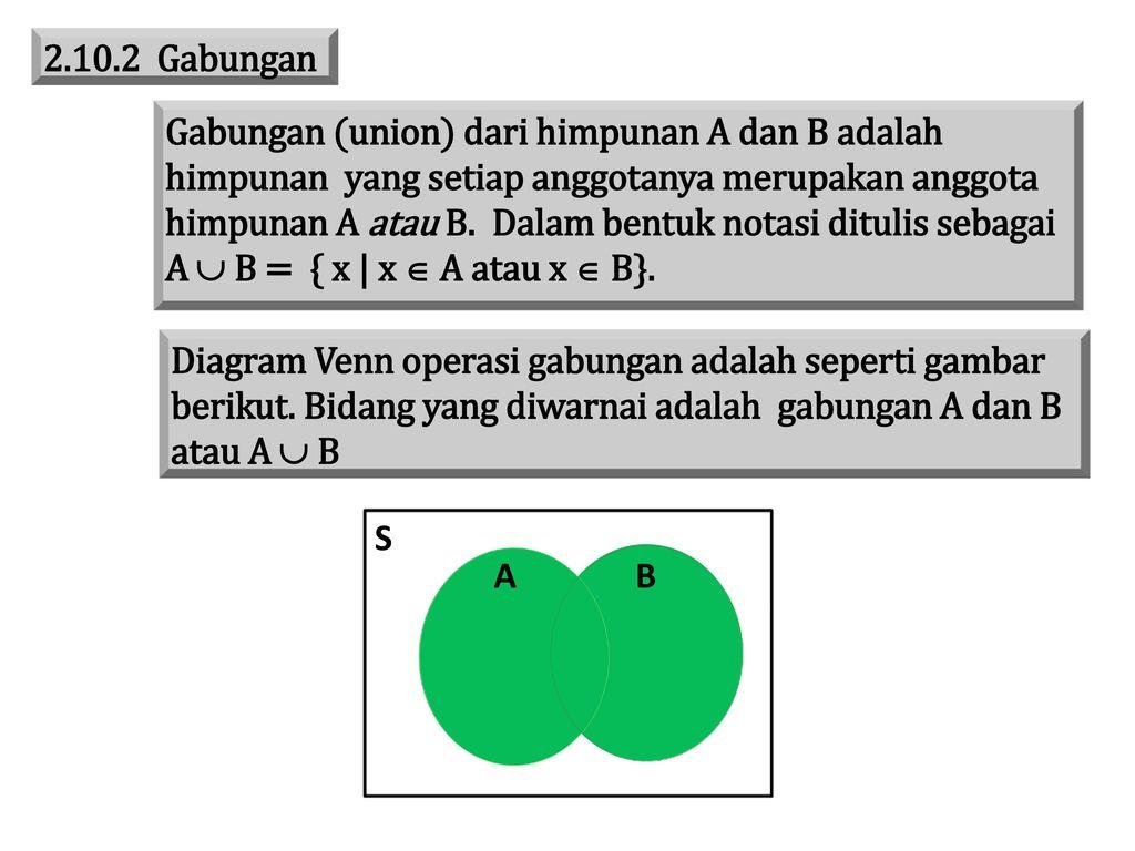Bab ii himpunan ppt download 14 gabungan ccuart Gallery