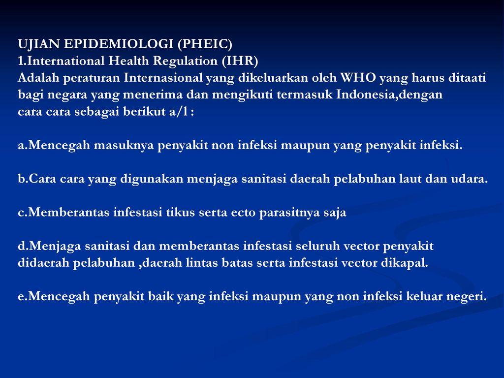 International Health Regulation Ppt Download