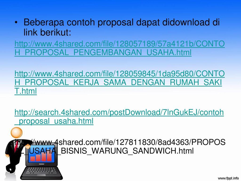 Kerangka Proposal Kerjasama Usaha Ppt Download