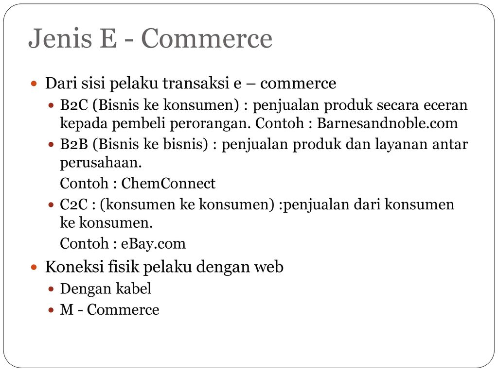 Introduction To E Commerce Ppt Download