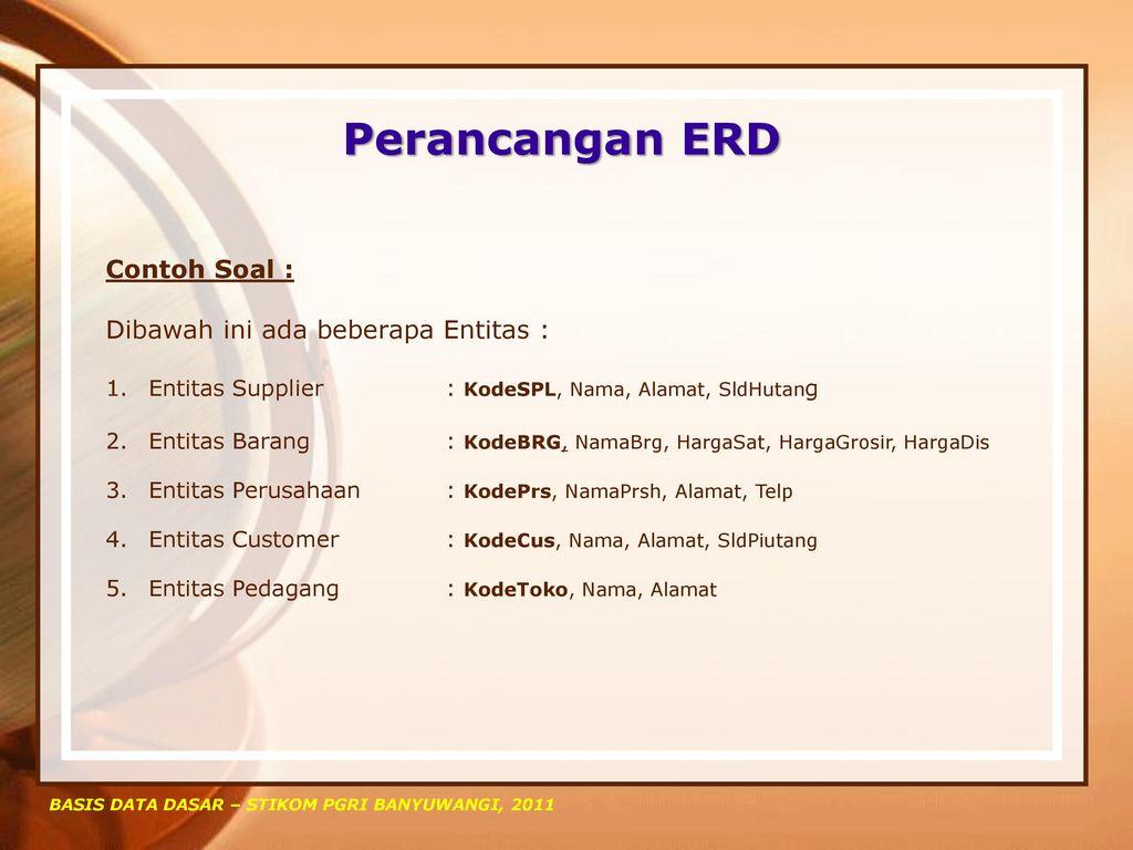 Basis Data Dasar Rudi Hartono S E M Kom Ppt Download