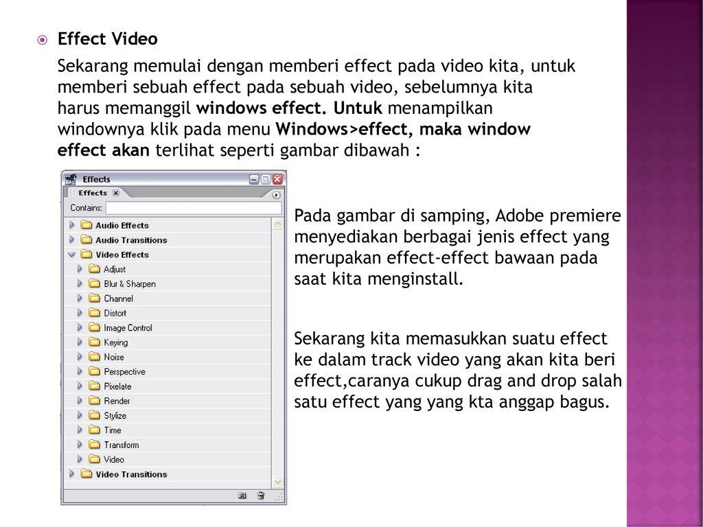 Tutorial Adobe Premiere Pro Ppt Download