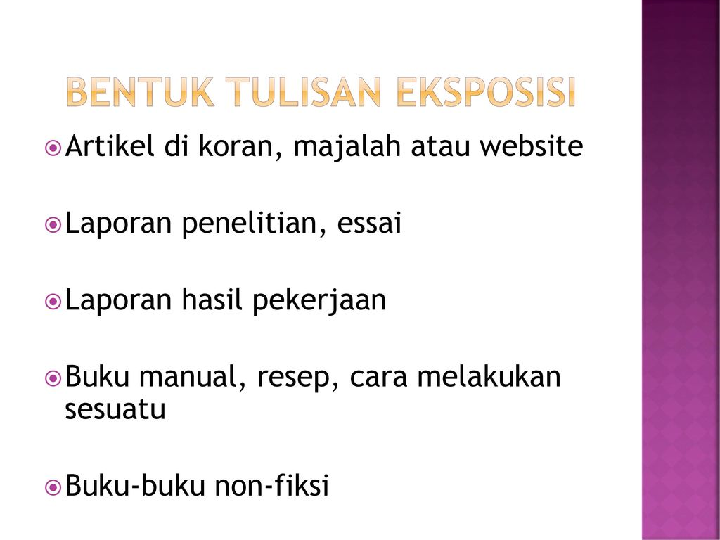 Eksposisi Ppt Download