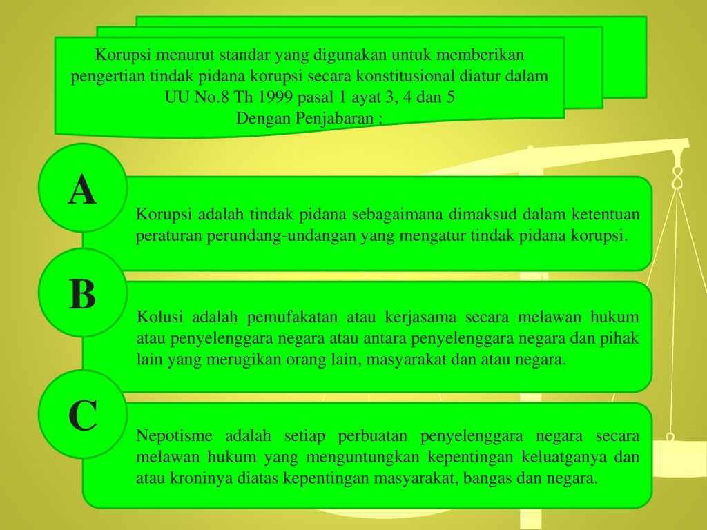 Anotomi Tindak Pidana Korupsi Ppt Download