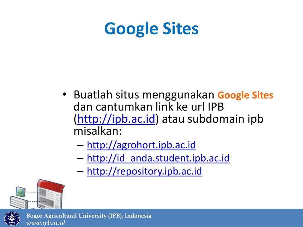 Webometrics & Web IPB Mencari dan Memberi yang Terbaik - ppt