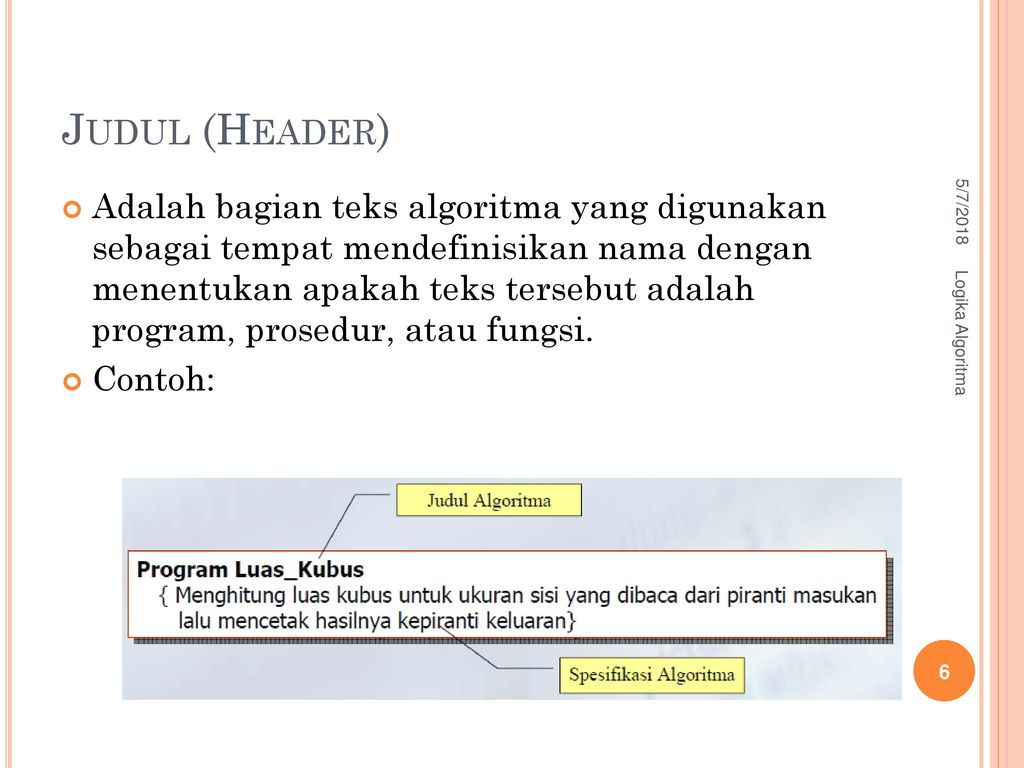 Pseudocode Tipe Data Variabel Dan Operator Ppt Download