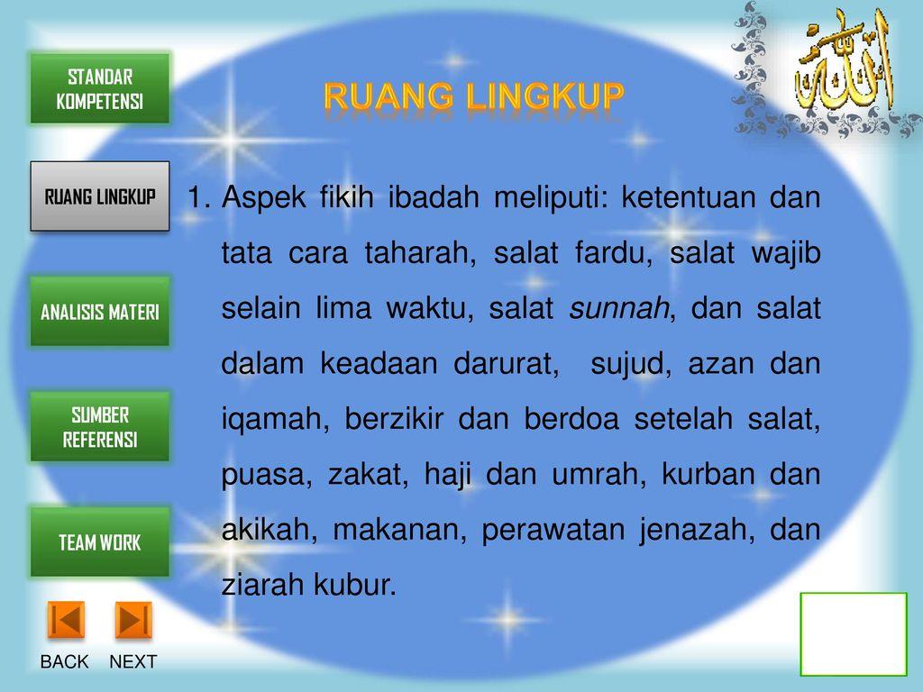 TINGKAT MADRASAH TSANAWIYAH - ppt download