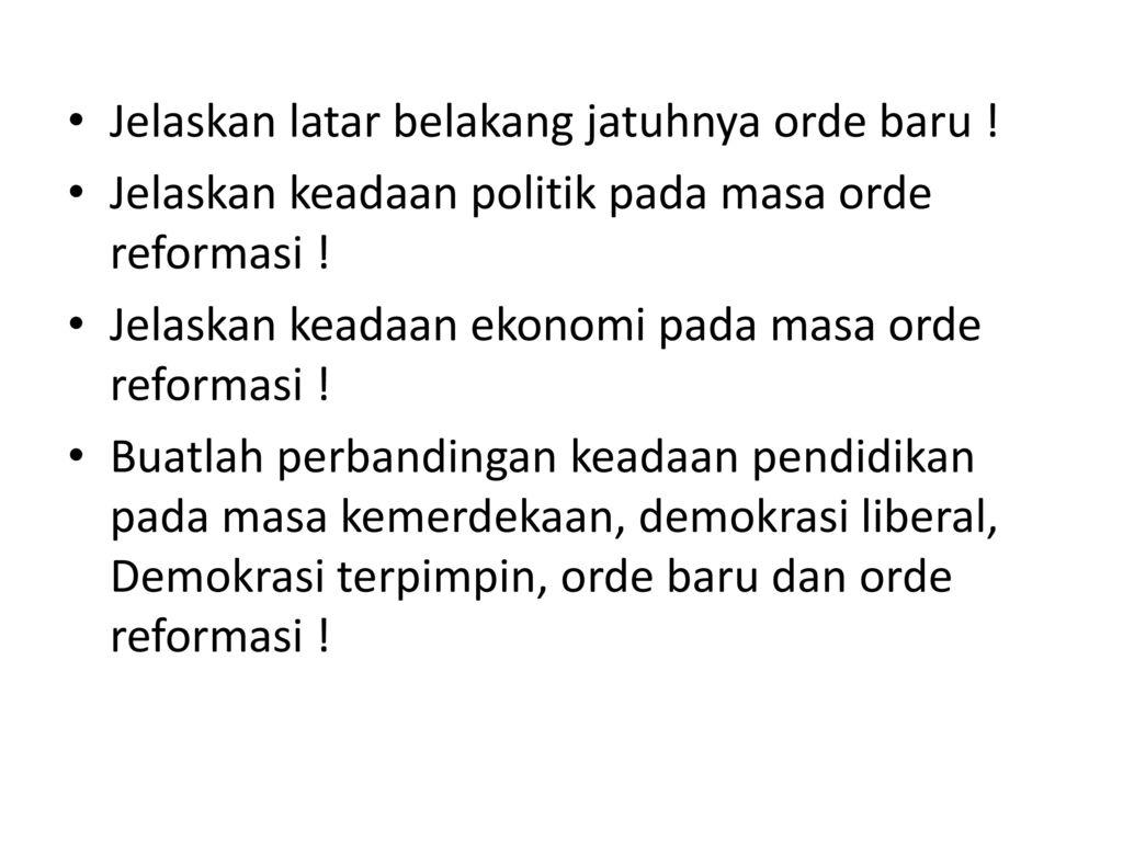 Perkembangan Masyarakat Indonesia Menuju Negara Maju Ppt Download