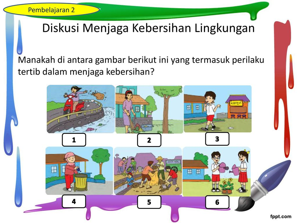 Contoh Poster Menjaga Kebersihan Lingkungan Sekolah Contoh