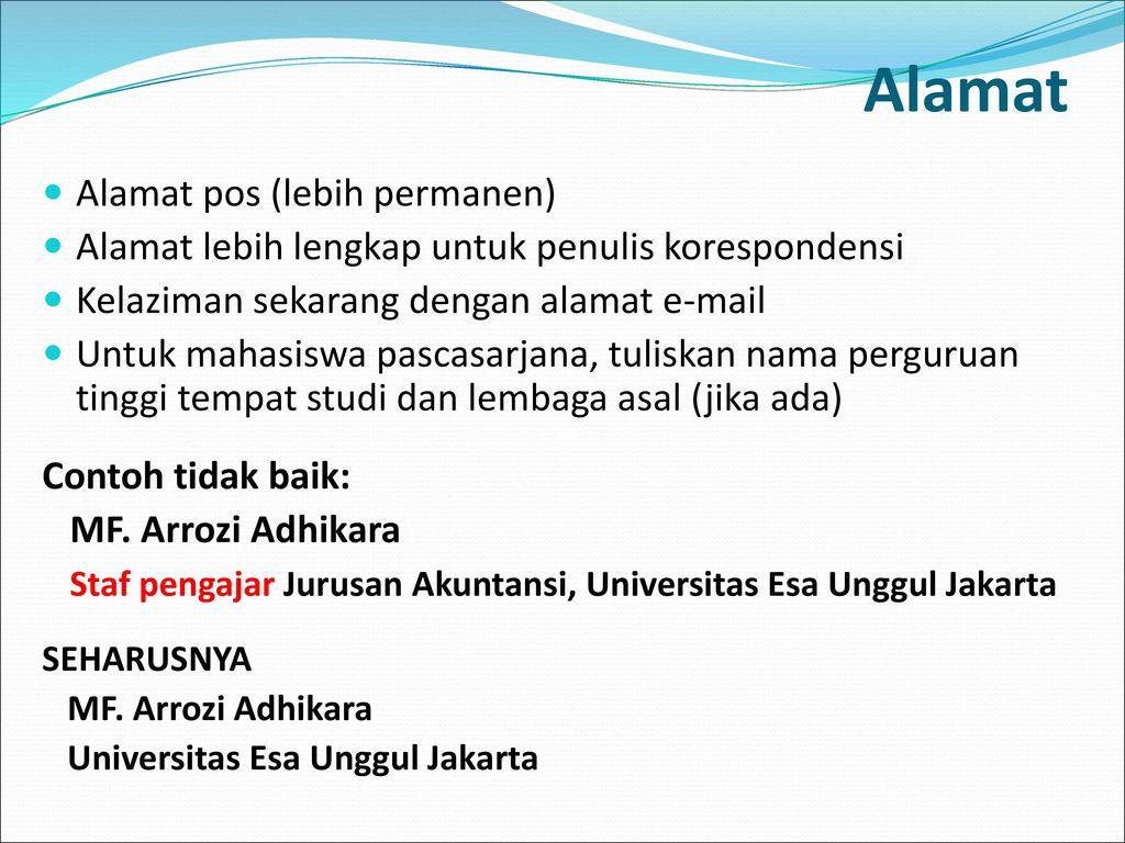 Swasunting Artikel Ilmiah Ppt Download