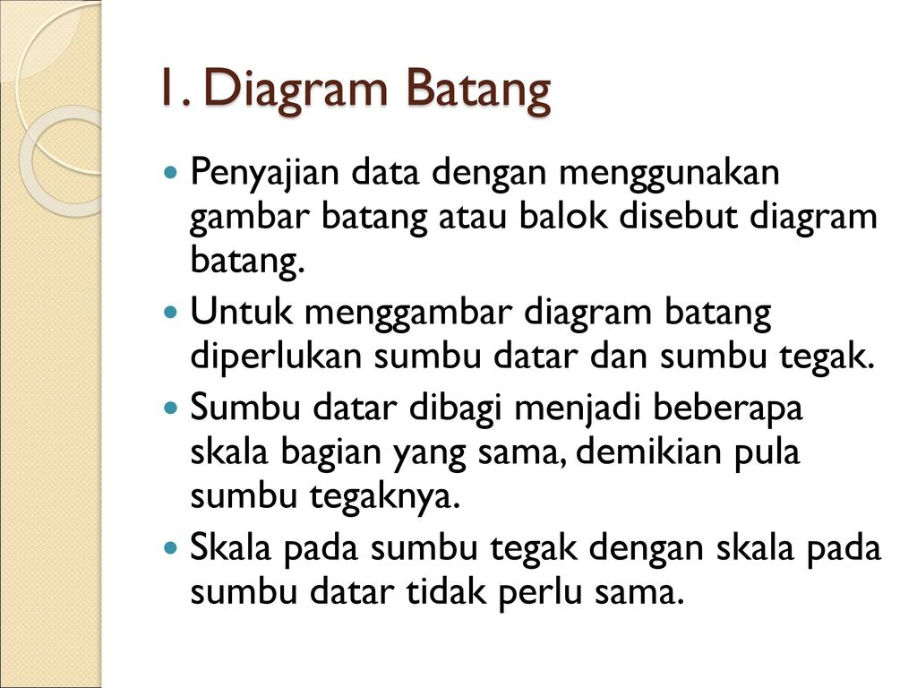 Penyajian data ppt download diagram batang penyajian data dengan menggunakan gambar batang atau balok disebut diagram batang ccuart Gallery