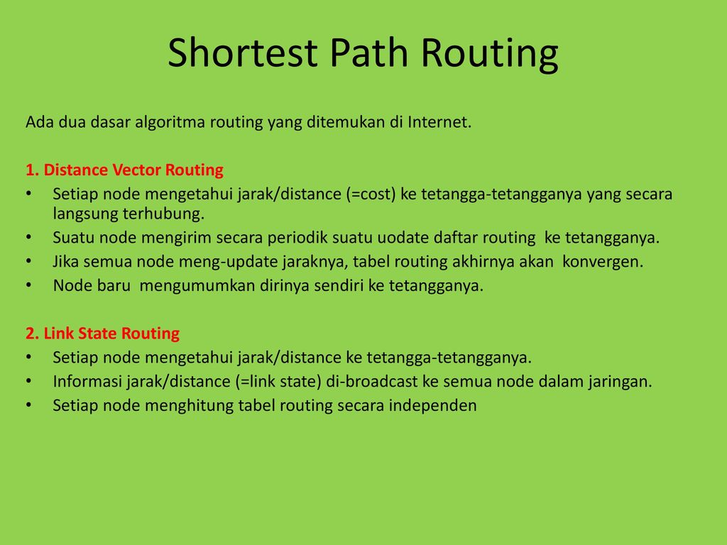 Routing Ip Ppt Download