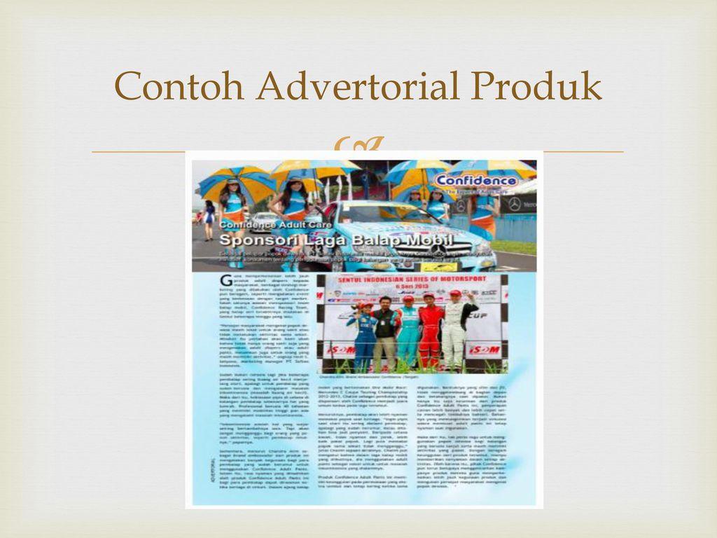 Penulisan Advertorial Ppt Download