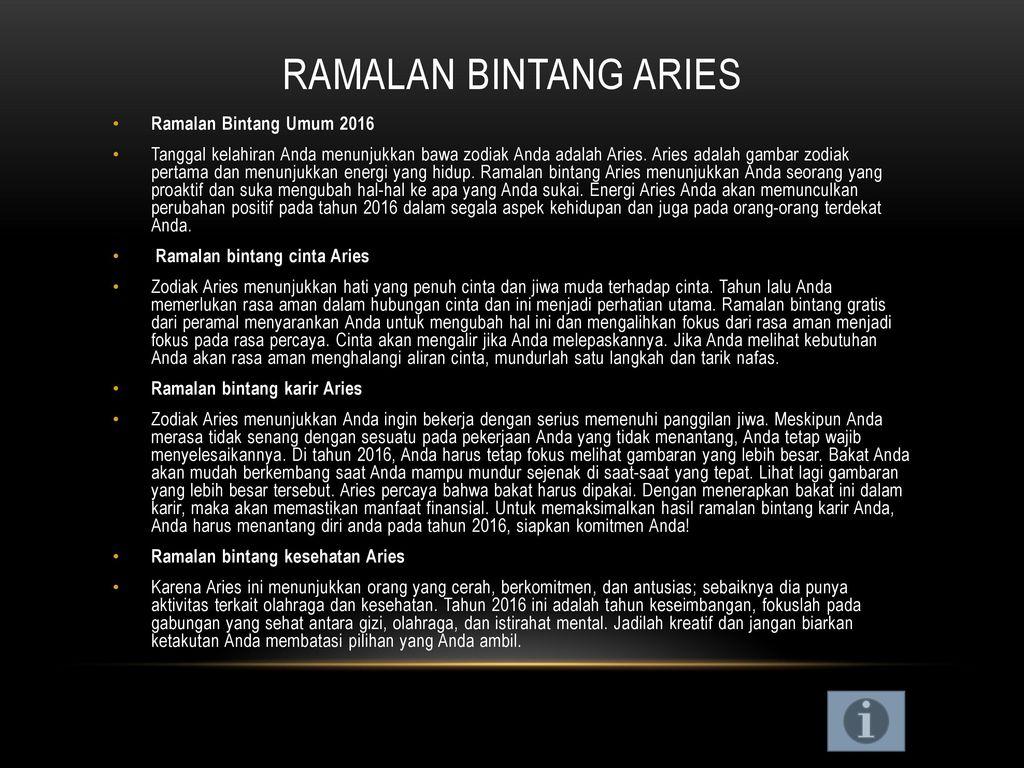 Ramalan Bintang Bulan November ppt download