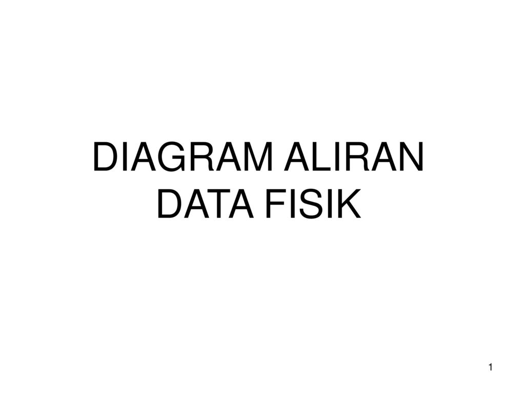 Diagram aliran data fisik ppt download 1 diagram aliran data fisik ccuart Gallery