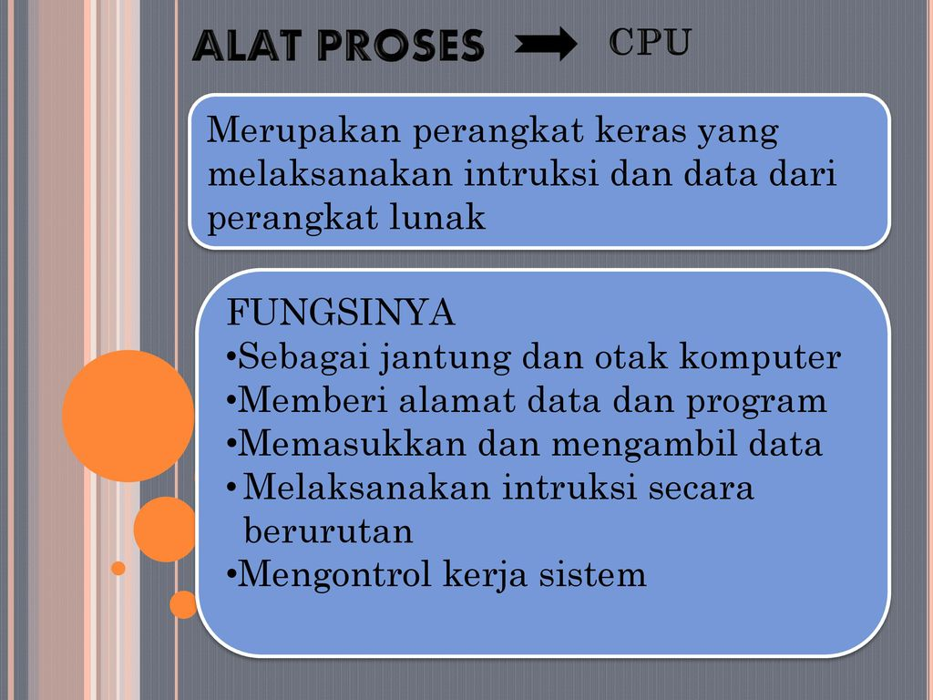 Alat Proses Process Device Ppt Download