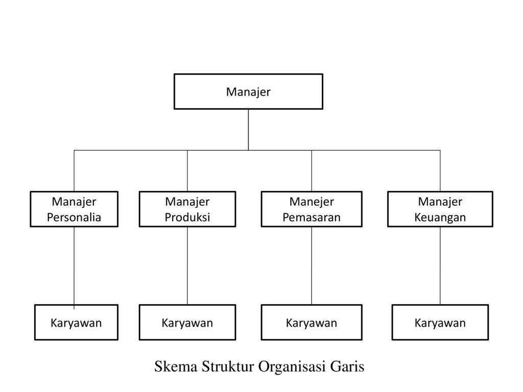 e bentuk bentuk struktur organisasi ppt download Struktur Organisasi Fungsional skema struktur organisasi garis