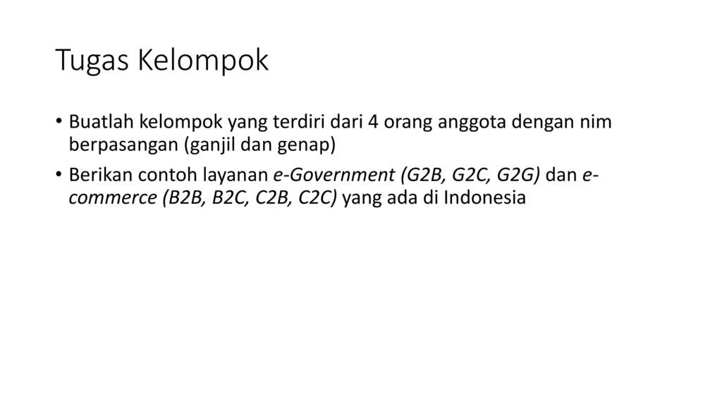 E Government Ppt Download