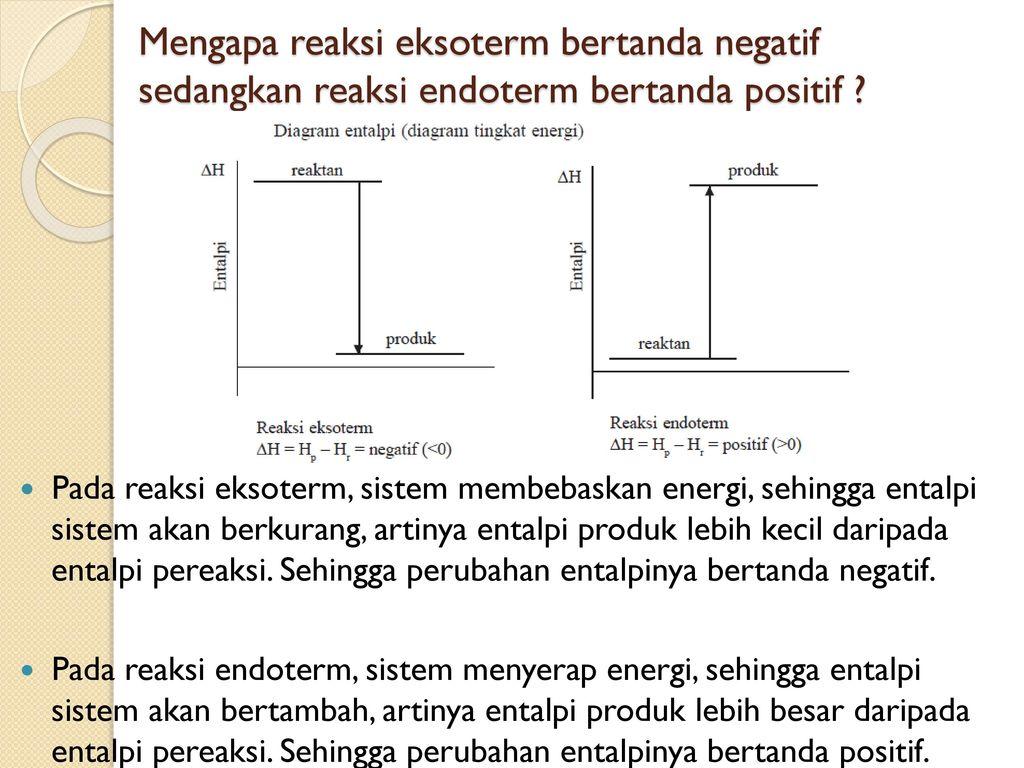 Materi kelas xi ipa semester ganjil ppt download mengapa reaksi eksoterm bertanda negatif sedangkan reaksi endoterm bertanda positif ccuart Gallery