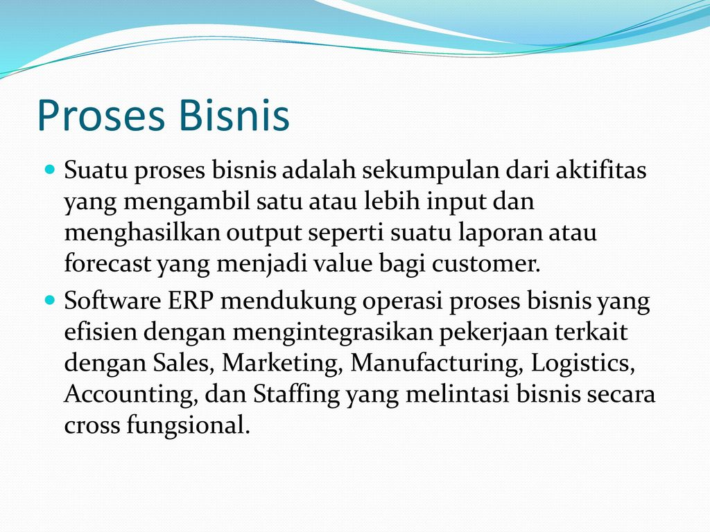 Business Functions And Business Processes Ppt Download