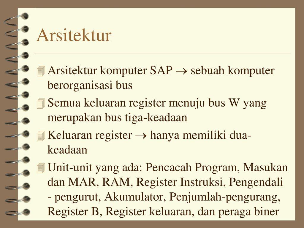 Komputer Simple As Possible Sap 1 Ppt Download