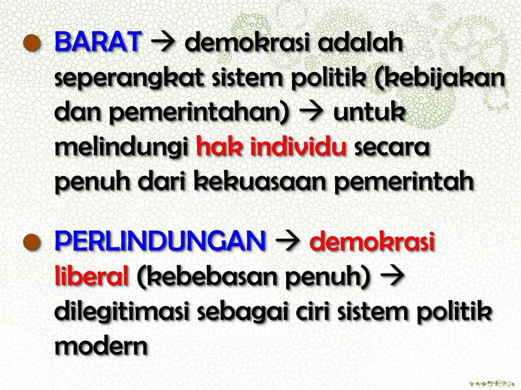 Demokrasi Dalam Konsep Politik Lokal Ppt Download