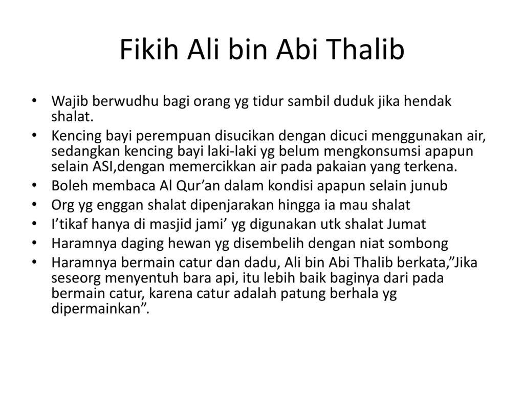Kata Mutiara Ali Bin Abi Thalib Tentang Anak Cikimm Com