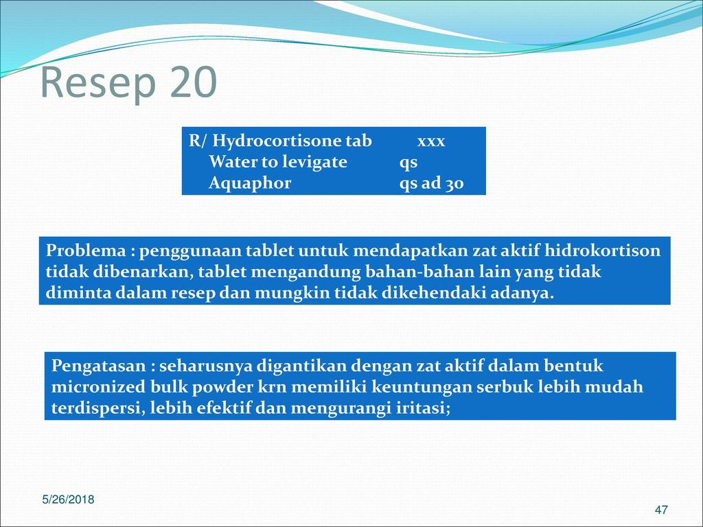Inkompatibilitas Sediaan Salep Ppt Download