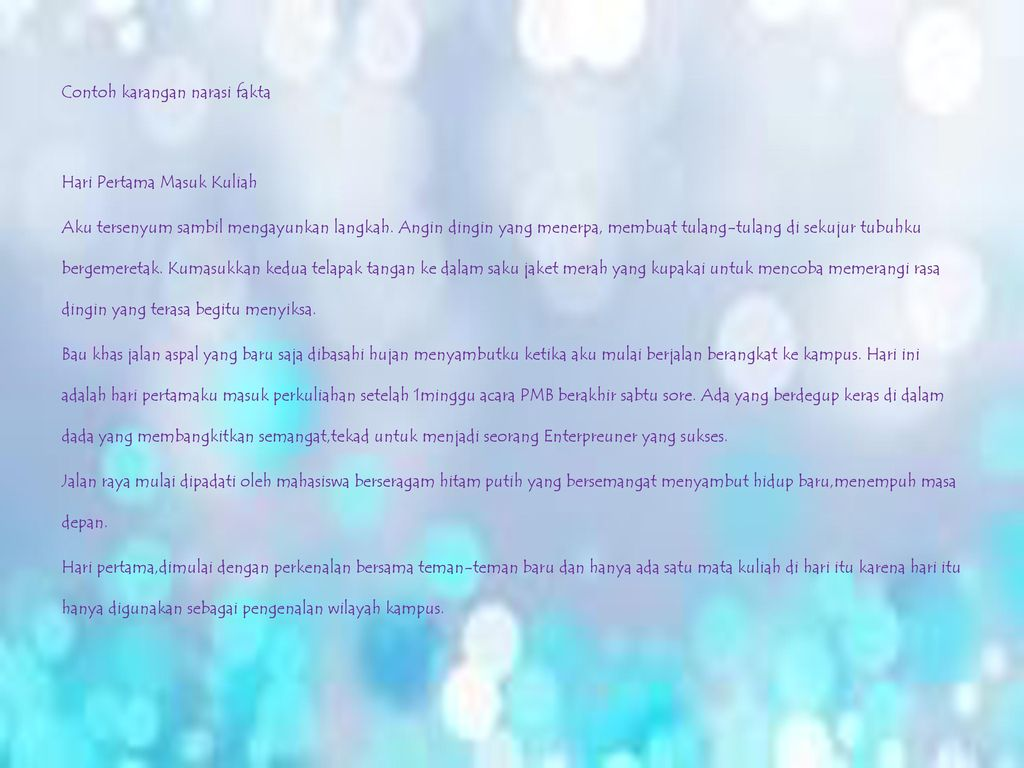 Macam Macam Karangan Berri Suandi Jesicca Ka07 Ppt Download