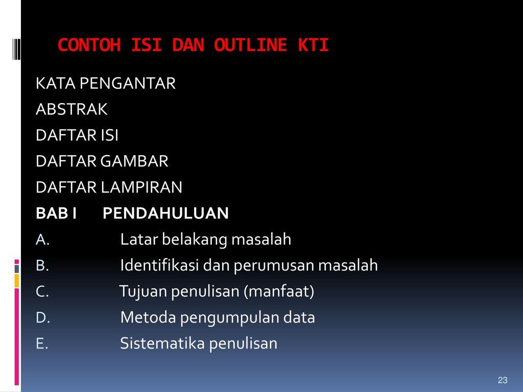Teknik Penulisan Karya Tulis Ilmiah Ppt Download