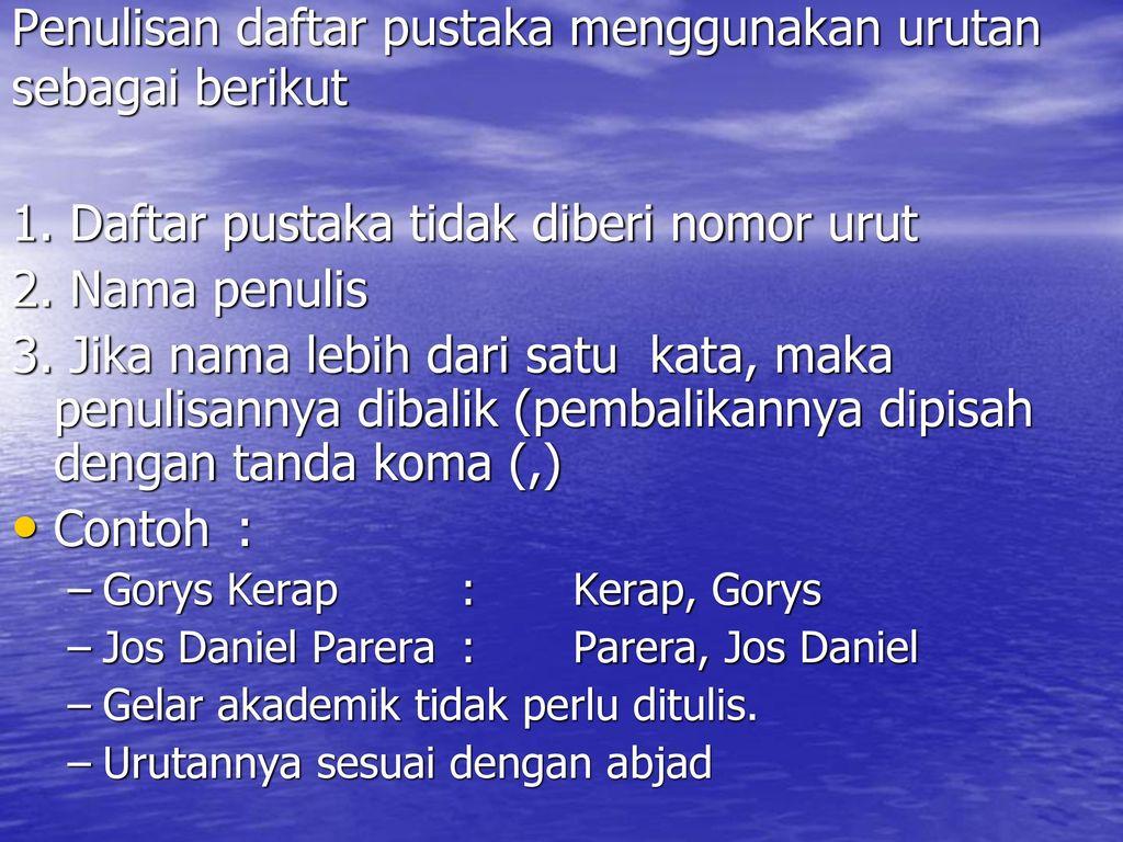 Karya Ilmiah Ppt Download