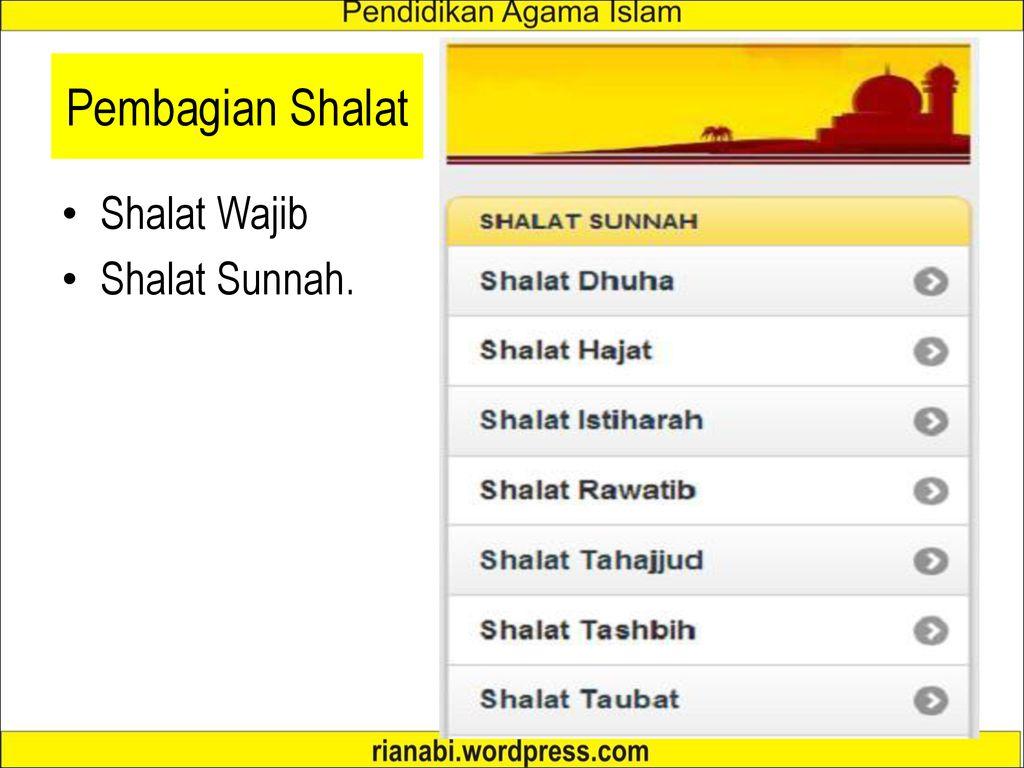 Fiqih Shalat Ppt Download