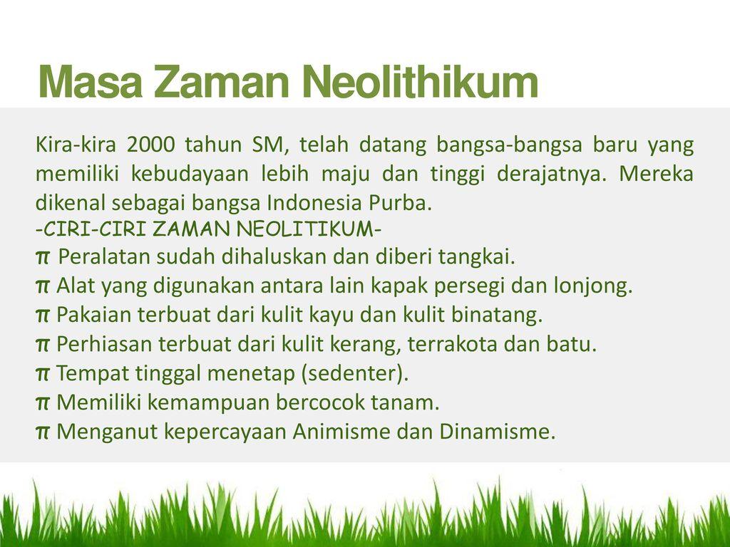 Introducing Zaman Neolithikum Ppt Download