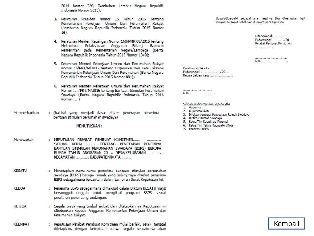 Surat Lamaran Kementerian Pekerjaan Umum Dan Perumahan Rakyat Kumpulan Surat Penting
