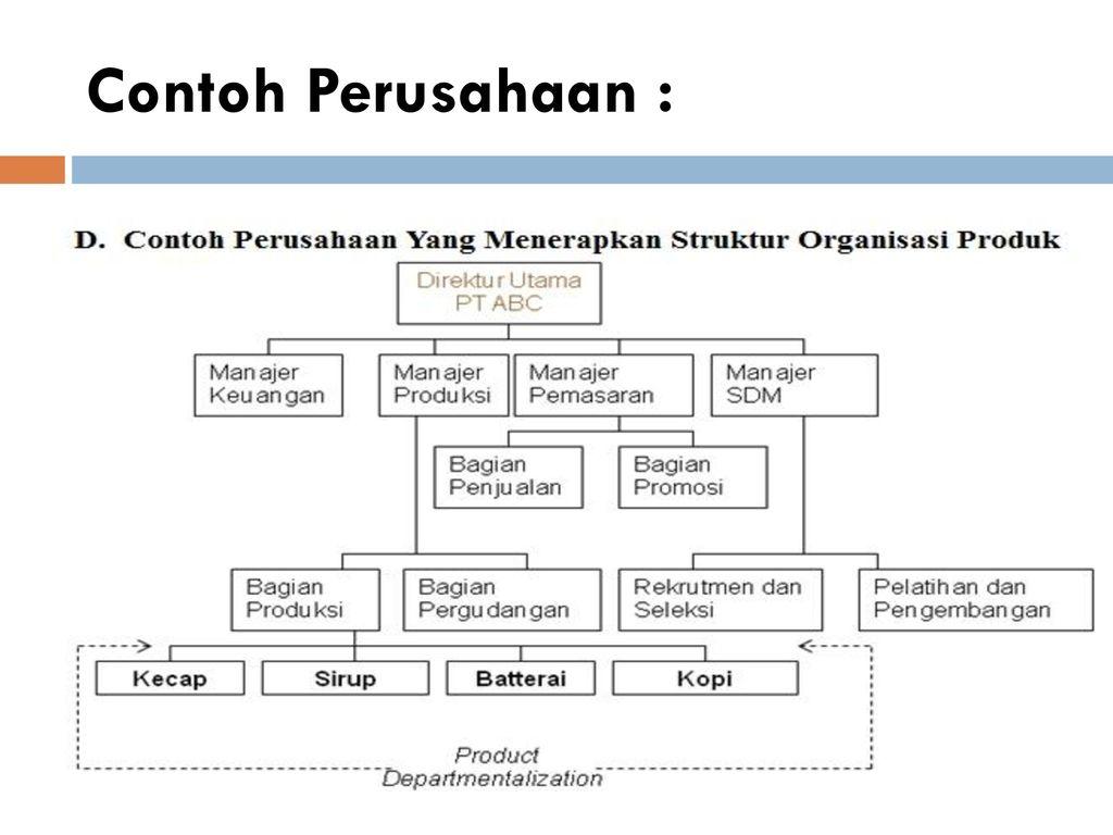 manajemen sumber daya manusia struktur organisasi ppt download Struktur Organisasi Perusahaan Brainly struktur organisasi produk 28 contoh perusahaan