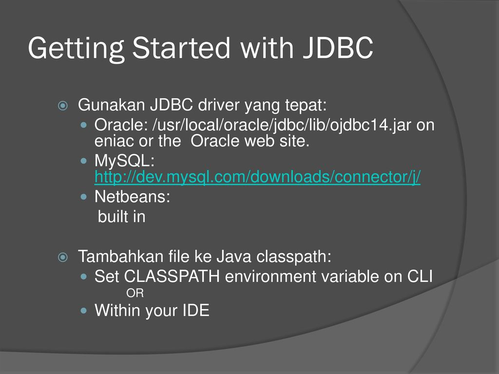 Java Database Programming - ppt download