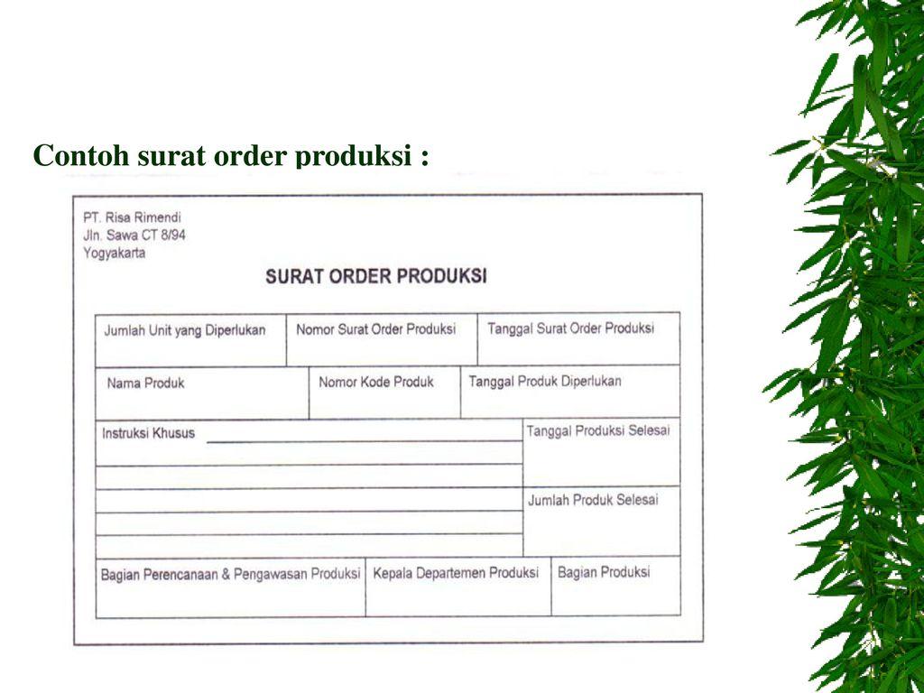 Sistem Pengawasan Produksi Ppt Download