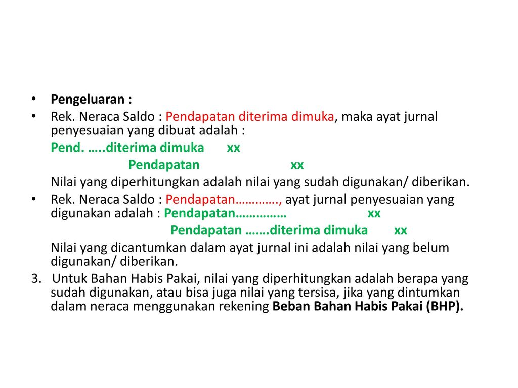 Jurnal Penyesuaian Adjustment Journal Ppt Download