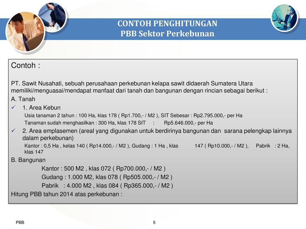Latihan Penghitungan Pbb P2 Dan P3 Ppt Download