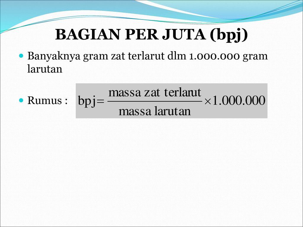 Bab Larutan Ppt Download