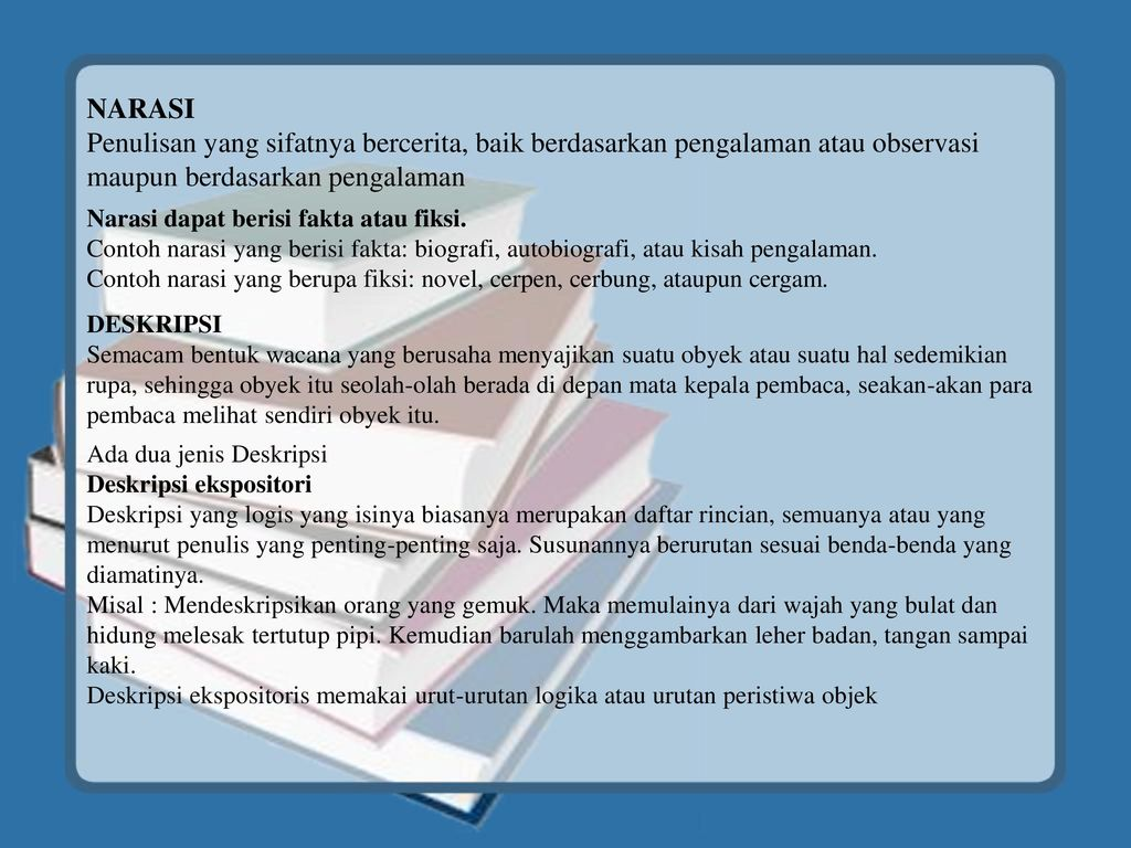 Jenis Tulisan Eksposisi Ppt Download
