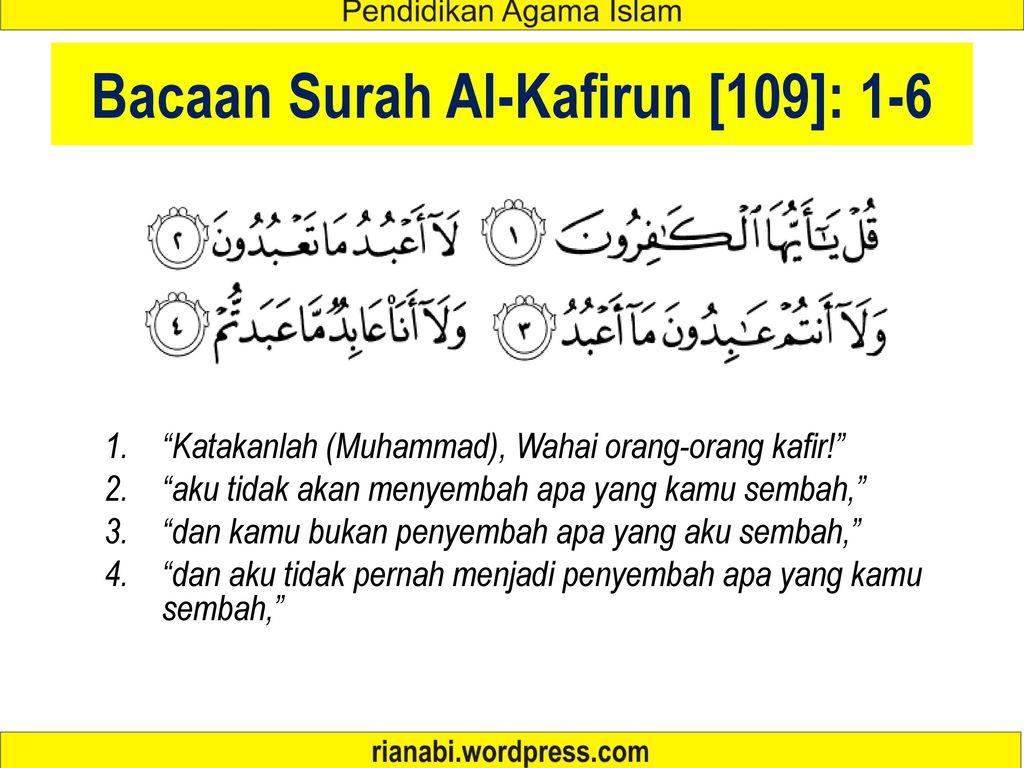 Ayat Ayat Al Quran Tentang Toleransi Ppt Download