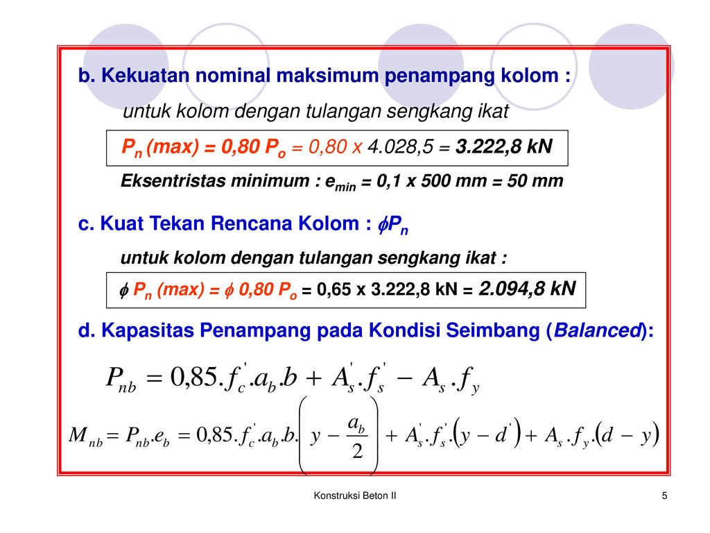 Diagram interaksi p m kolom ppt download kekuatan nominal maksimum penampang kolom ccuart Images